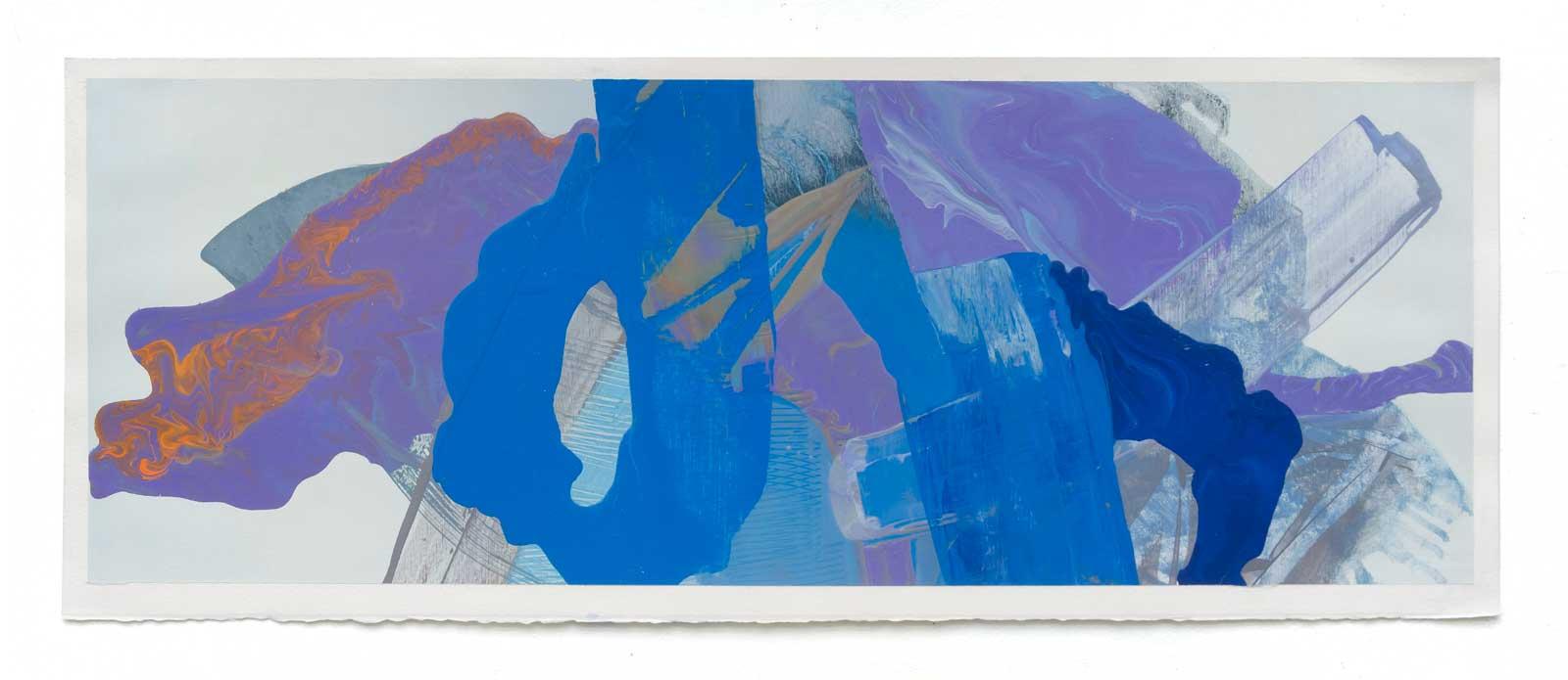 Disruptions-7-oil-on-paper-25.4 cm x 71.12 cm.