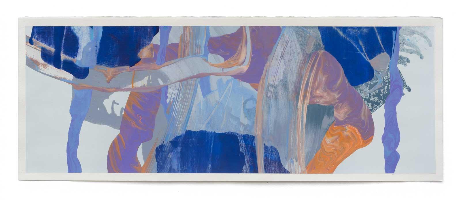 Disruptions-8-oil-on-paper-25.4 cm x 71.12 cm.