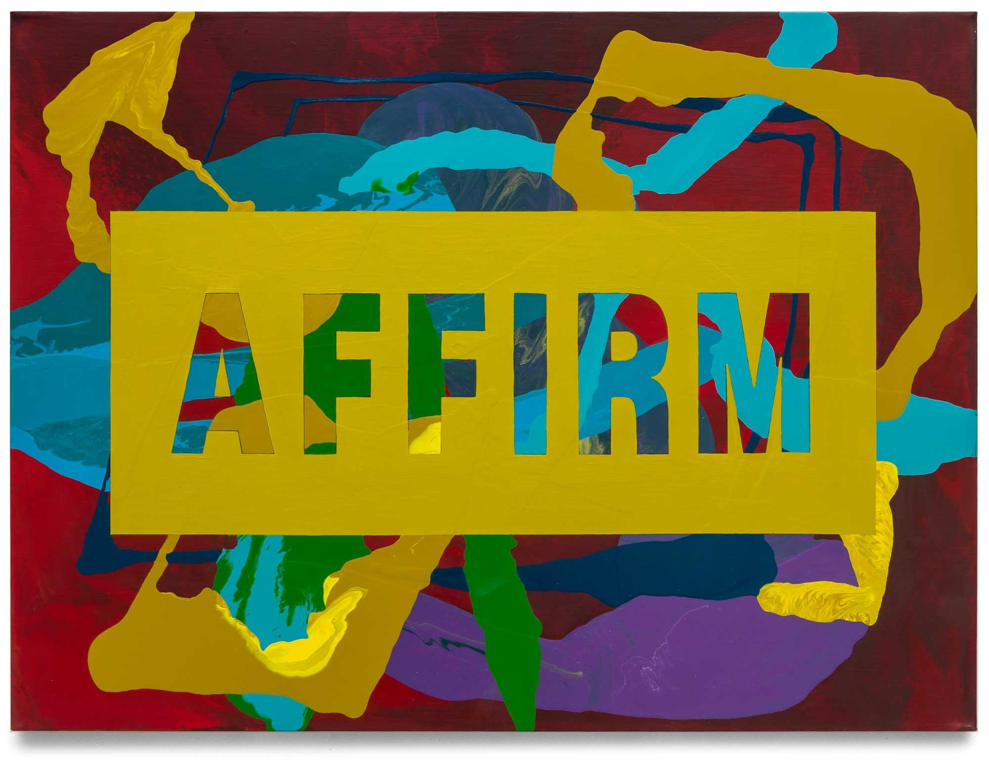 Affirm-oil-on-canvas-91.44 cm x 121.92 cm.