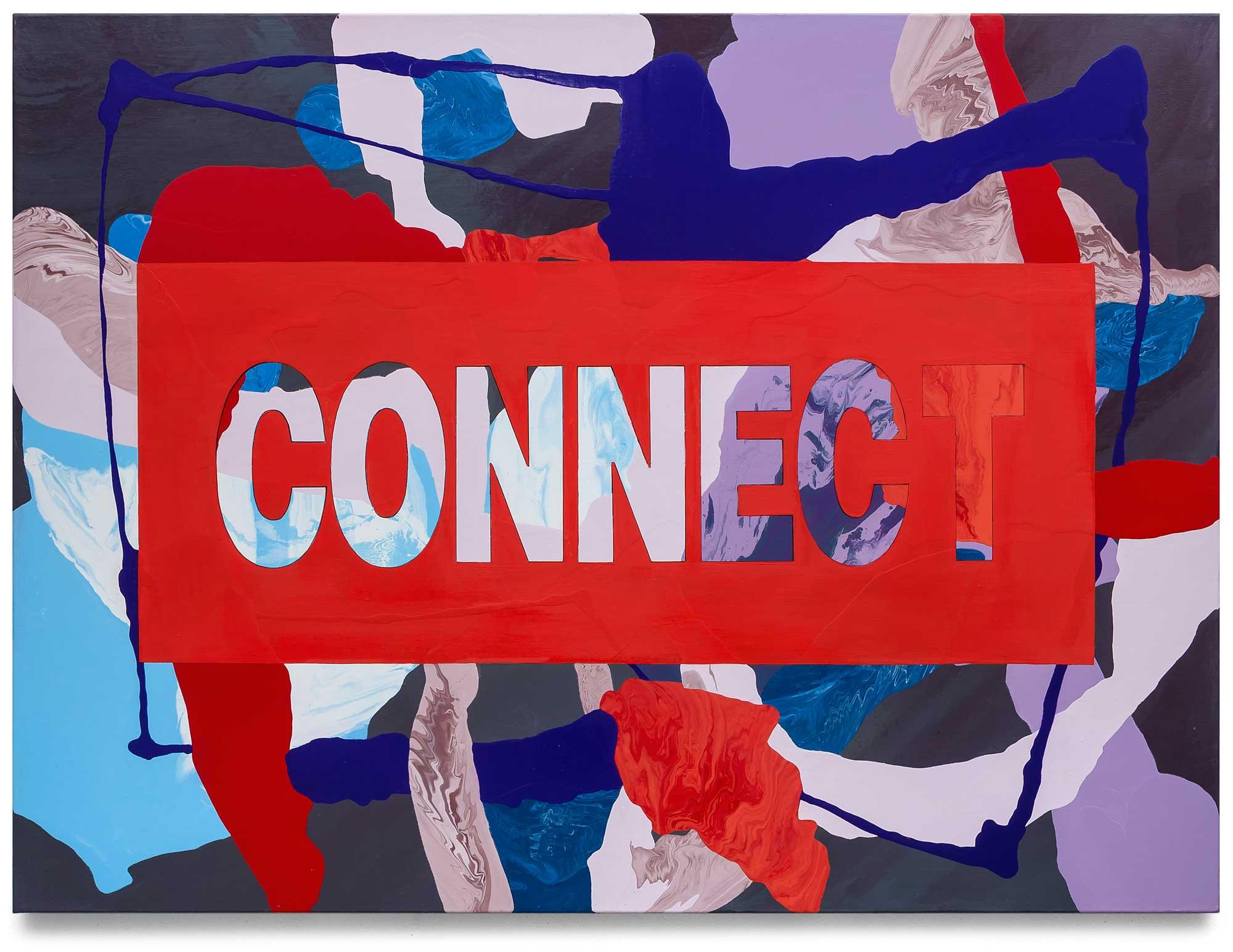 Connect-oil-on-canvas-91.44 cm x 121.92 cm.