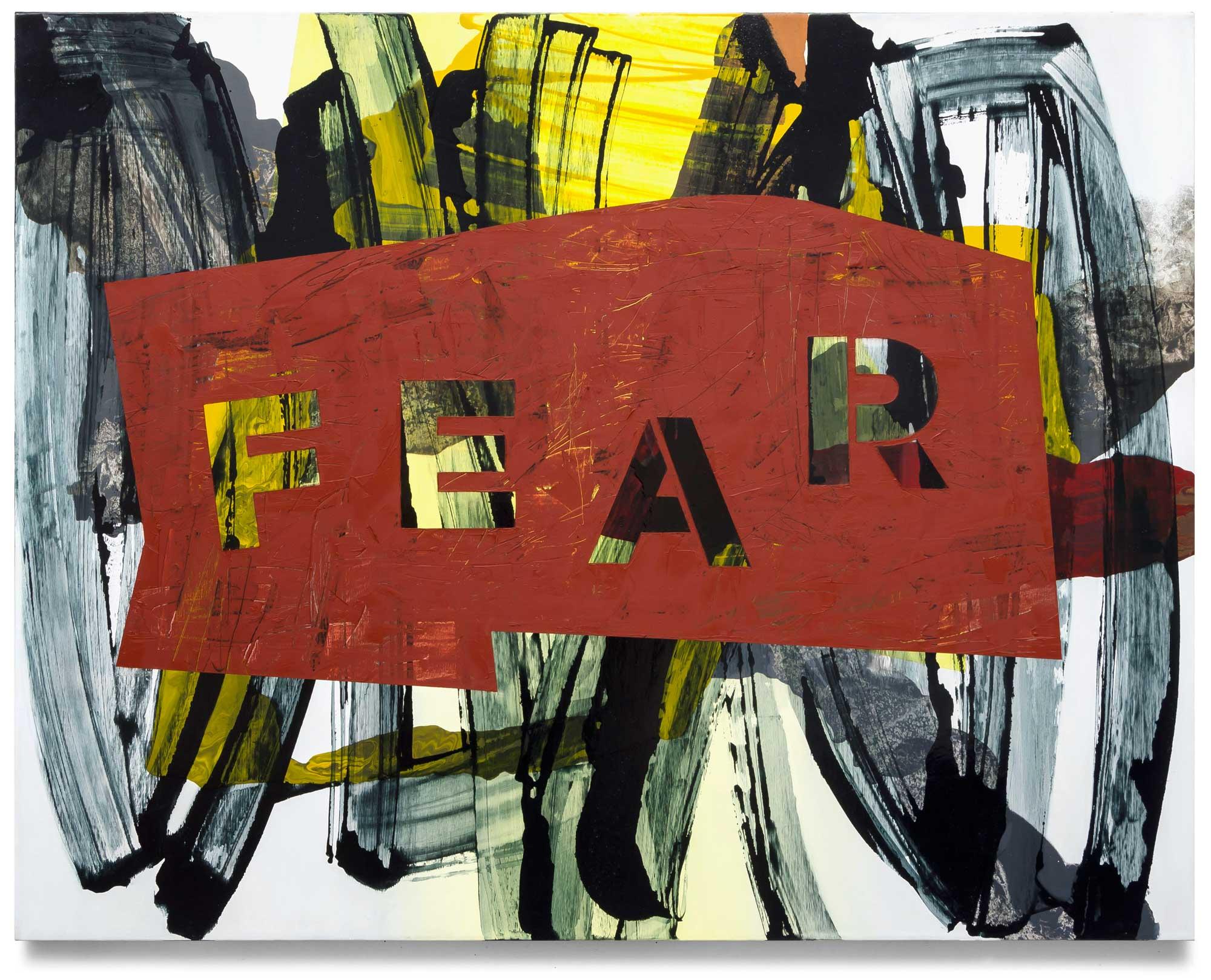 Fear-oil-on-canvas-111.76 cm x 142.24 cm.