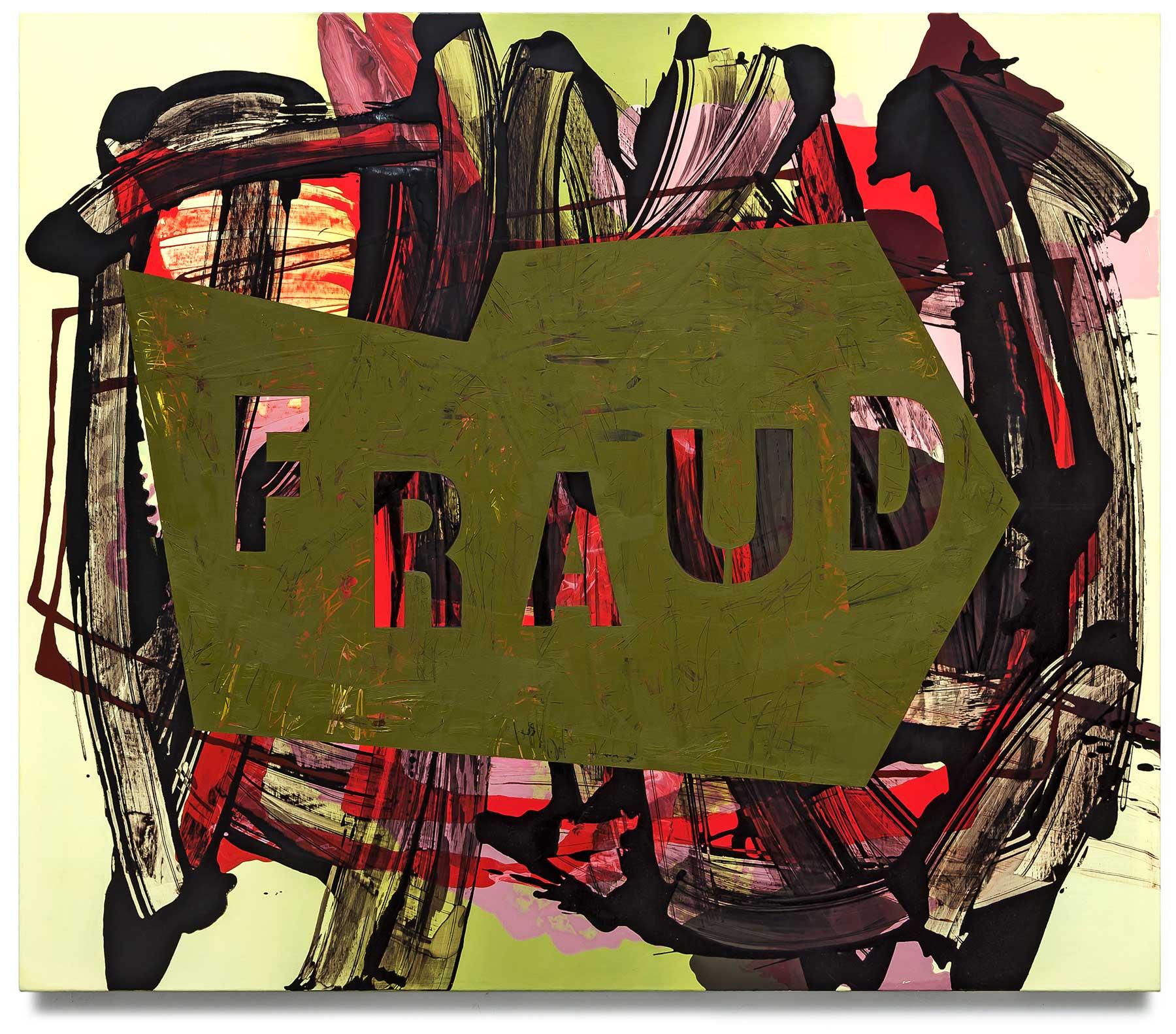 Fraud-oil-on-canvas-127 cm x 147.32 cm.
