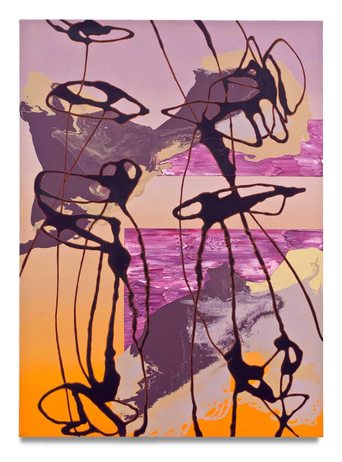 Dusk-oil-on-canvas-111.76 cm x 81.28 cm.