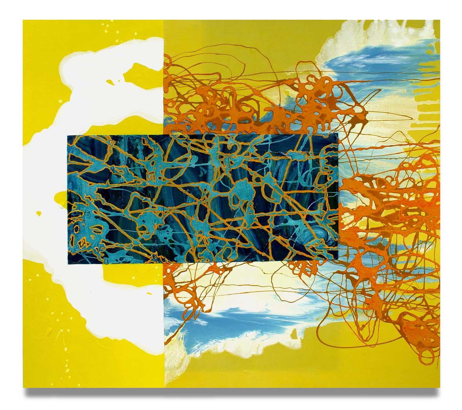 Undercurrent - Oil on Canvas - 162.56 cm x 182.88 cm.