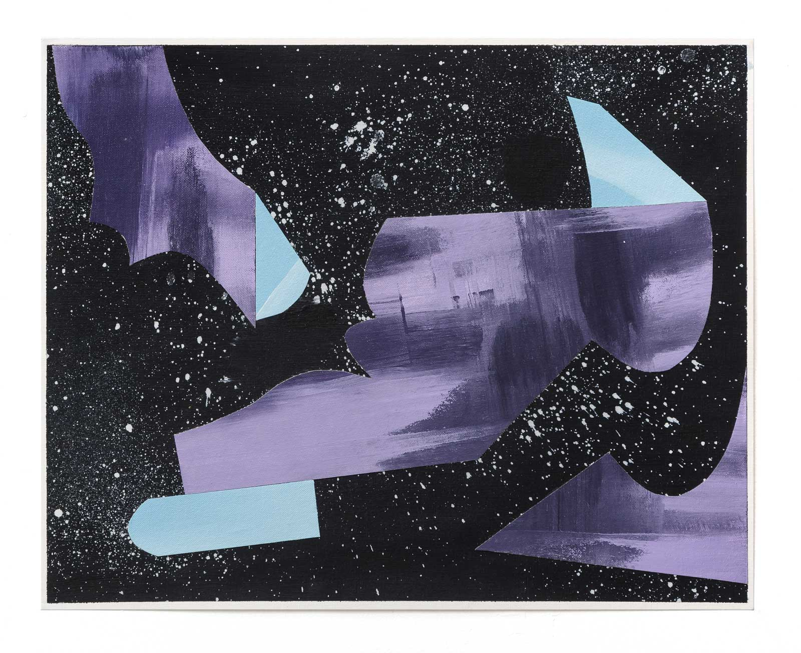 Objets-Obscurs-3-collage-paper-45.72 cm x 60.96 cm.