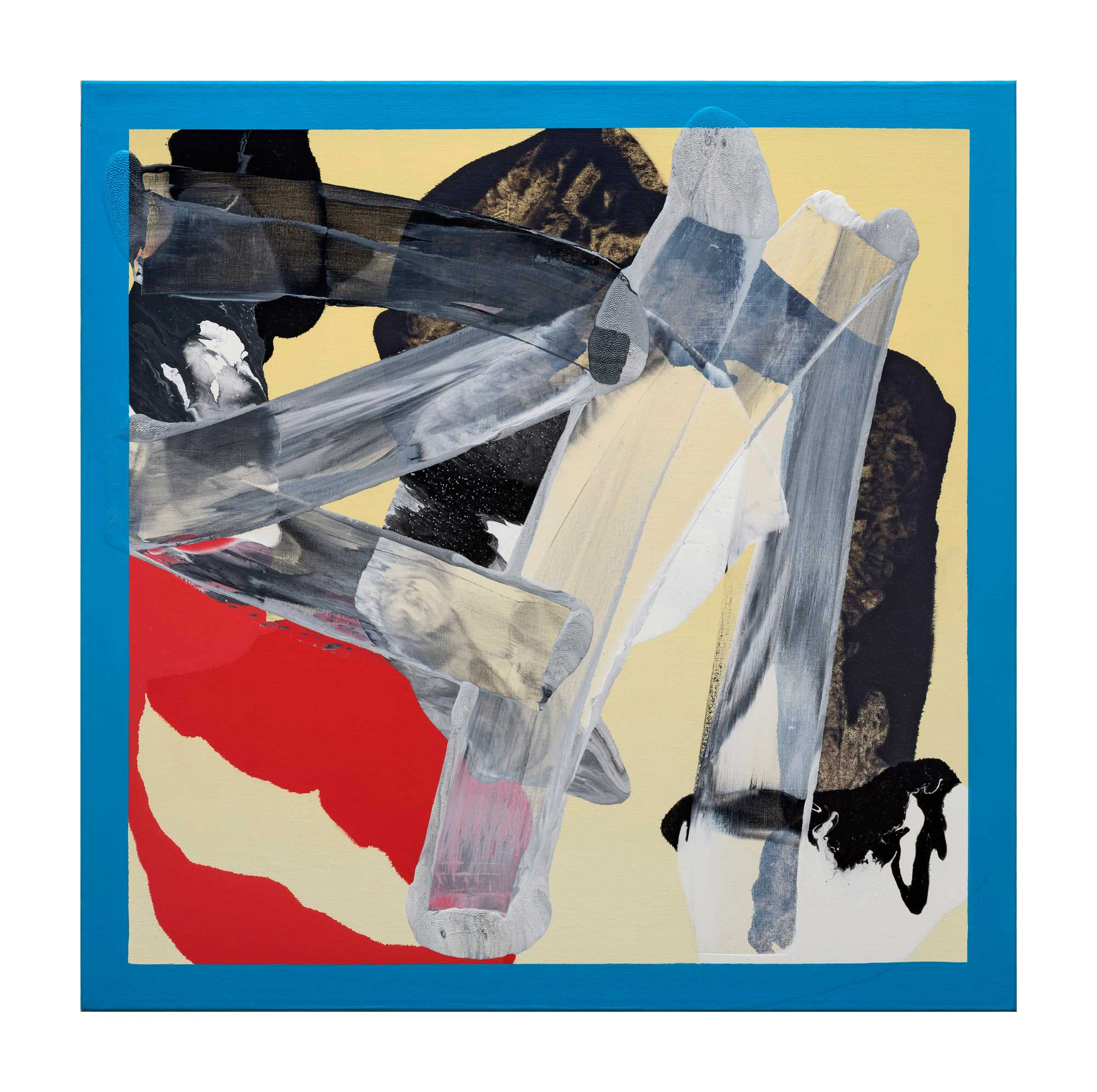 Grounding-blue-2,-oil-canvas,-24'x24'