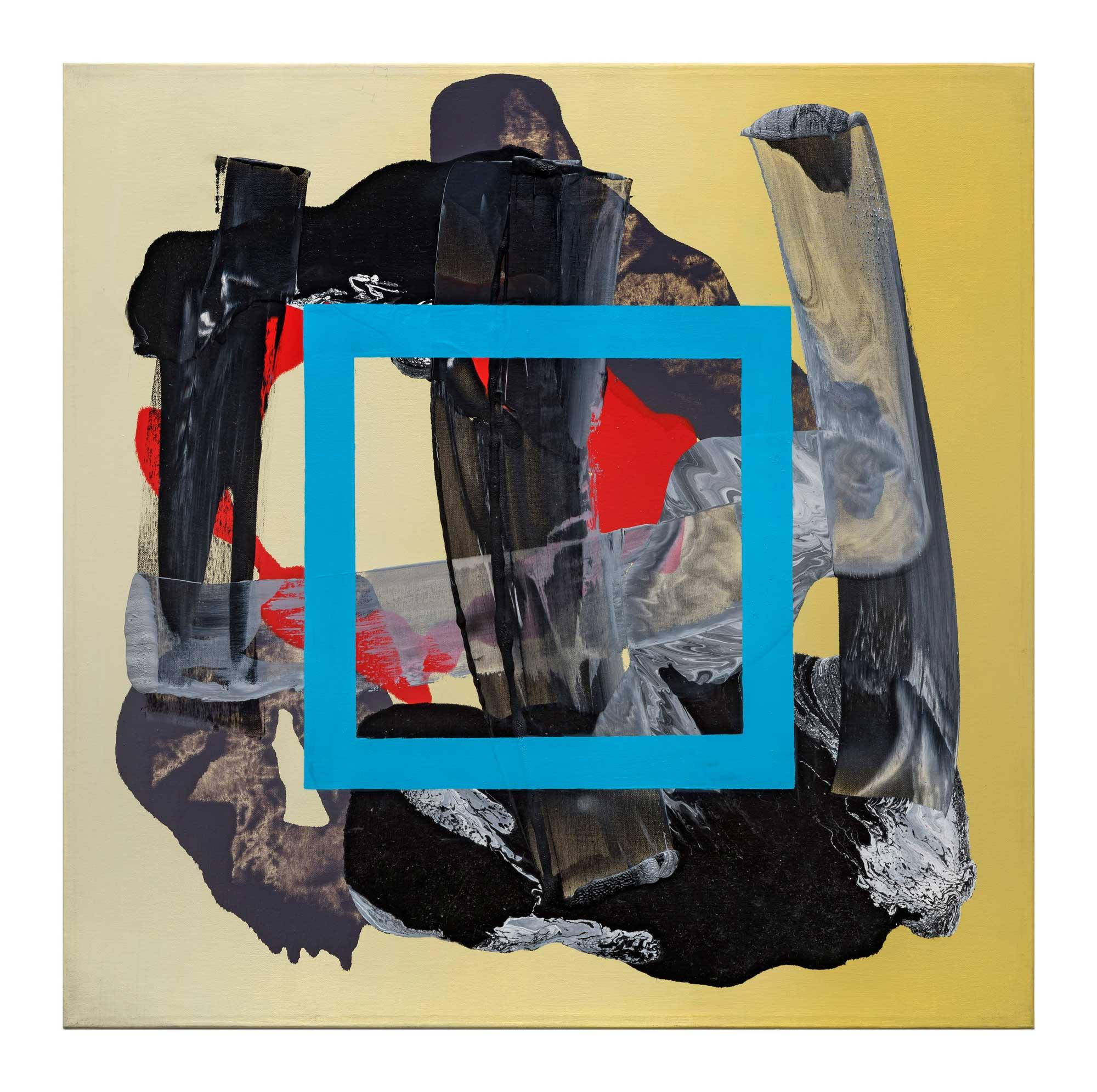 Grounding-blue-3,-oil-canvas,-24'x24'