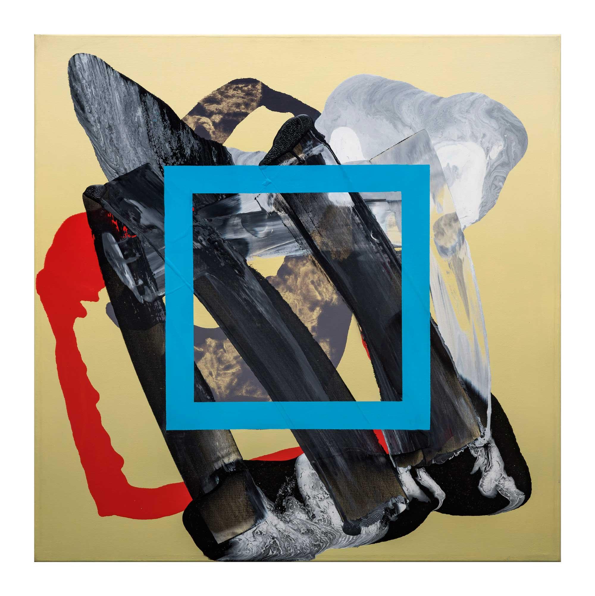 Grounding-blue-5,-oil-canvas,-24'x24'