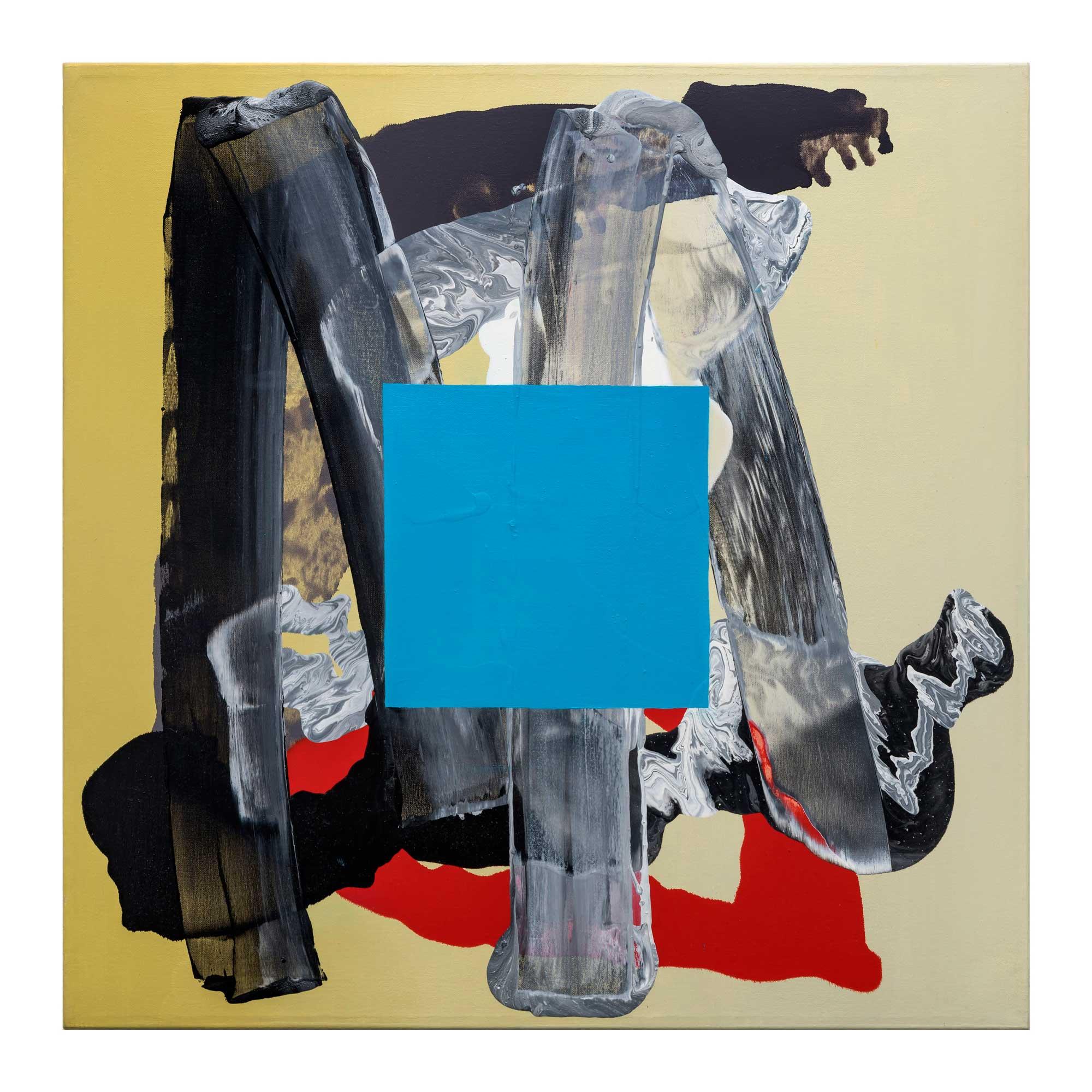 Grounding-blue-6,-oil-canvas,-24'x24'