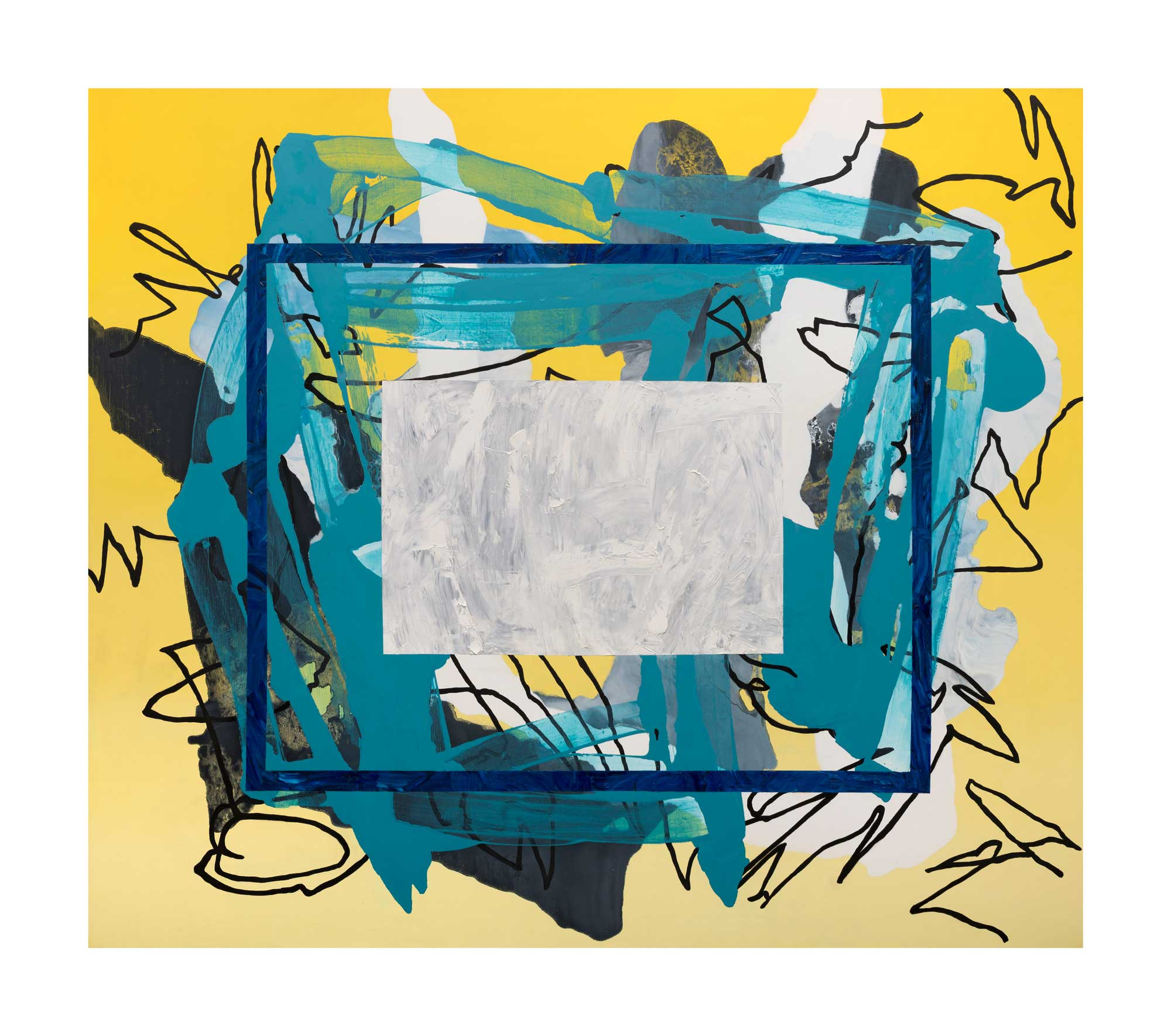 The-Core-of-Things-White-oil-canvas-62'-x-72'